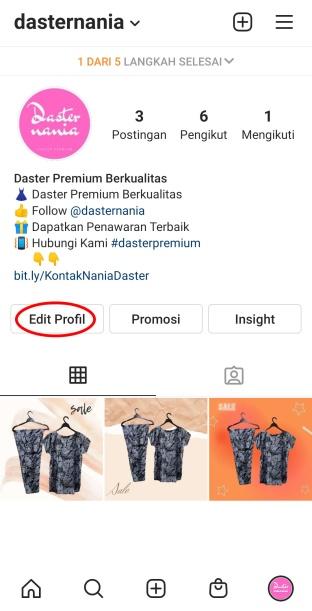 Membuat Akun Instagram Bisnis Yang Menarik 8a