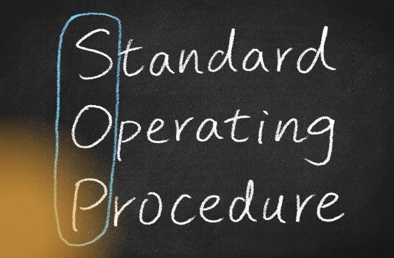 franchisor  - standard operating procedure